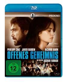 Offenes Geheimnis (Blu-ray), Blu-ray Disc