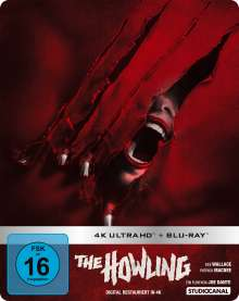 The Howling - Das Tier (1980) (Ultra HD Blu-ray & Blu-ray im Steelbook), 1 Ultra HD Blu-ray und 1 Blu-ray Disc