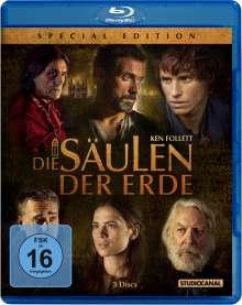 Die Säulen der Erde (Special Edition) (Blu-ray), 2 Blu-ray Discs und 1 DVD