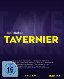 Bertrand Tavernier Edition (Blu-ray), 11 Blu-ray Discs