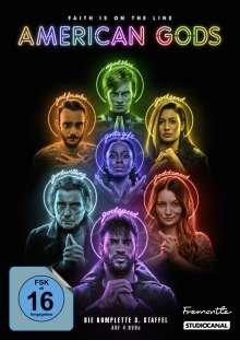 American Gods Staffel 3, 4 DVDs