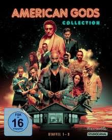 American Gods (Komplette Serie) (Blu-ray), 10 Blu-ray Discs