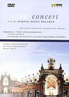 Staatskapelle Dresden - Festkonzert aus der Semperoper, DVD