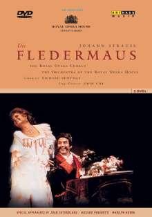 Johann Strauss II (1825-1899): Die Fledermaus (in engl.Spr.), 2 DVDs