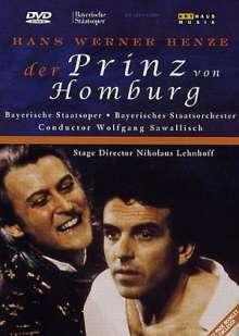 Hans Werner Henze (1926-2012): Der Prinz von Homburg, DVD