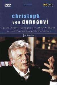 Christoph von Dohnanyi probt & dirigiert, DVD