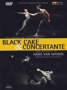 Bayerisches Staatsballett:Black Cake & Concertante, DVD