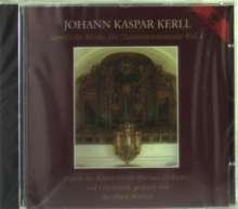 Johann Caspar Kerll (1627-1693): Sämtliche Werke für Tasteninstrumente Vol.1, CD