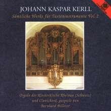 Johann Caspar Kerll (1627-1693): Sämtliche Werke für Tasteninstrumente Vol.2, CD