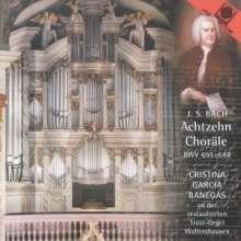 """Johann Sebastian Bach (1685-1750): Choräle BWV 651-668 """"Leipziger-Choräle"""", CD"""