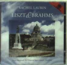 Rachel Laurin spielt Liszt & Brahms, CD