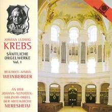 Johann Ludwig Krebs (1713-1780): Sämtliche Orgelwerke Vol.1, CD