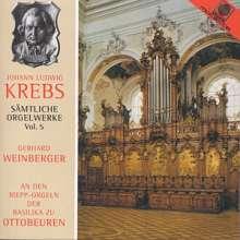 Johann Ludwig Krebs (1713-1780): Sämtliche Orgelwerke Vol.5, CD