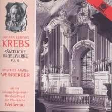 Johann Ludwig Krebs (1713-1780): Sämtliche Orgelwerke Vol.6, CD