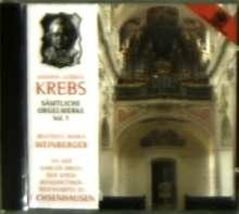 Johann Ludwig Krebs (1713-1780): Sämtliche Orgelwerke Vol.7, CD
