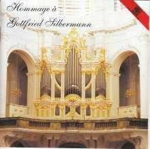 Hansjürgen Scholze - Hommage a Gottfried Silbermann, CD