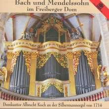 Bach & Mendelssohn im Freiberger Dom, CD