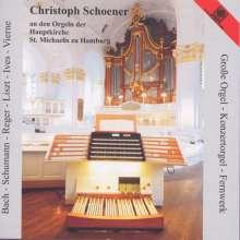 Christoph Schoener an den Orgeln St.Michaelis zu Hamburg, CD