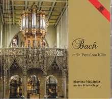 Martina Mailänder - Bach in St. Pantaleon Köln, CD