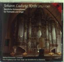 Johann Ludwig Krebs (1713-1780): Sämtliche Werke für Trompete & Orgel, CD
