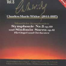 Charles-Marie Widor (1844-1937): Sinfonia Sacra f.Orgel & Orchester op.81, CD