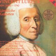 Vincent Lübeck (1654-1740): Sämtliche Kantaten, CD