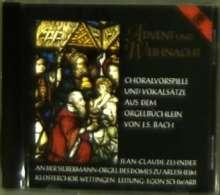 Johann Sebastian Bach (1685-1750): Choräle BWV 599-612 (Advent & Weihnacht), CD