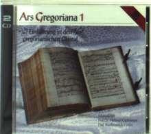 Ars Gregoriana 1 - Einführung in den gregorianischen Choral, 2 CDs