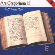 Ars Gregoriana 15 - Tropus, CD