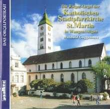 Die Rieger-Orgel der Stadtpfarrkirche St.Martin Wangen, CD