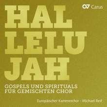 Europäischer Kammerchor - Hallelujah (Gospels & Spirituals für gemischten Chor), CD