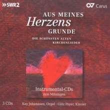 Aus meines Herzens Grunde - Die schönsten Kirchenlieder, 3 CDs