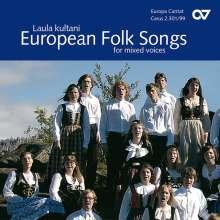 Laula kultani - European Folks Songs for mixed voices, CD