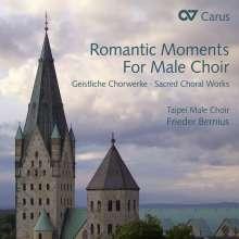 Romantic Moments for Male Choir - Geistliche Chorwerke, CD