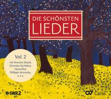 Die schönsten Lieder Vol. 2, CD