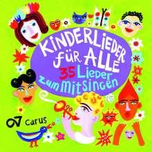 Kinderlieder für Alle - 35 Lieder zum Mitsingen, CD