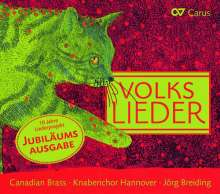 Volkslieder für Knabenchor & Blechbläserquintett (arrangiert von Andreas N.Tarkmann), CD