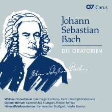 Johann Sebastian Bach (1685-1750): Oratorien, 3 CDs