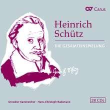 Heinrich Schütz (1585-1672): Das Gesamtwerk (Carus Edition), 28 CDs
