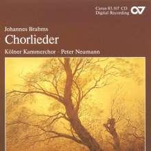 Johannes Brahms (1833-1897): Chorlieder op.42,op.62,op.92, CD