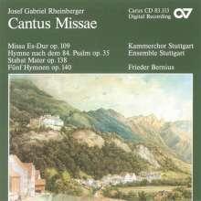 Josef Rheinberger (1839-1901): Messe Es-dur op.109, CD