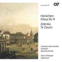 Johann David Heinichen (1683-1729): Messe Nr.9 D-Dur, CD