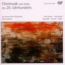 Via-Nova-Chor München - Chormusik vom Ende des 20.Jahrhundert's, CD