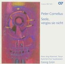 "Peter Cornelius (1824-1874): Requiem ""Seele,vergiss sie nicht"", CD"