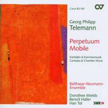 "Georg Philipp Telemann (1681-1767): Ouvertüre in D TWV 55:D12 ""Perpetuum mobile"", CD"