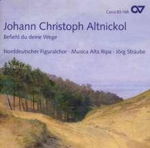 Johann Christoph Altnikol (1719-1759): Messe d-moll, CD