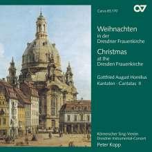 Gottfried August Homilius (1714-1785): Weihnachten in der Dresdner Frauenkirche (Kantaten), CD
