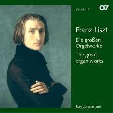 Franz Liszt (1811-1886): Orgelwerke, CD