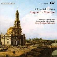 Johann Adolph Hasse (1699-1783): Requiem Es-Dur, CD