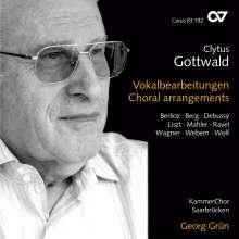 Clytus Gottwald (geb. 1925): Vokalbearbeitungen, CD